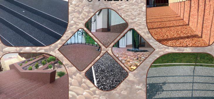 Sprzedaż produktów do podług kamiennych, dywanów żywicznych, posadzek kamiennych.